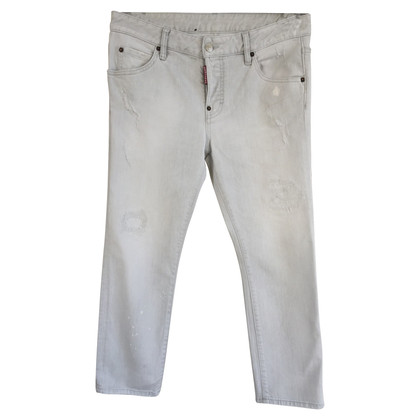 Dsquared2 trousers from denim