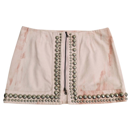 Red Valentino studded skirt
