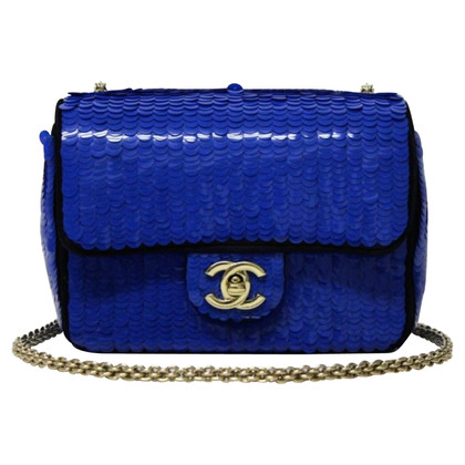 "Chanel ""Classic Flap Bag Mini"" met pailletten"
