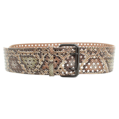 Schumacher Belt in animal look