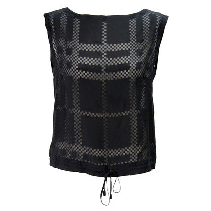 Burberry Top in Schwarz