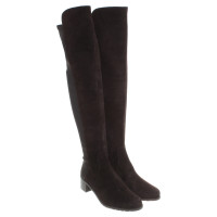 Stuart Weitzman Overknees in dark brown