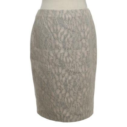 St. Emile skirt in grey / Rosé