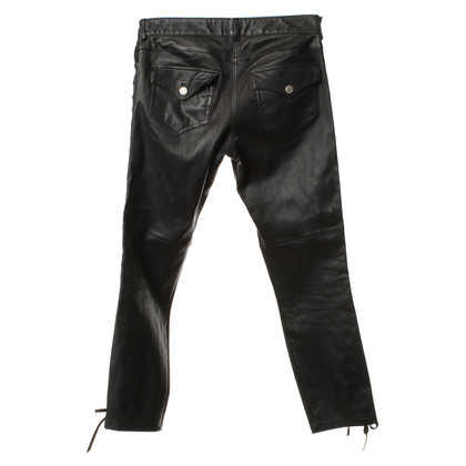 Isabel Marant for H&M Lederhose in Schwarz