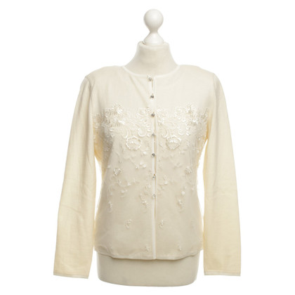Escada Twinset with embroidery