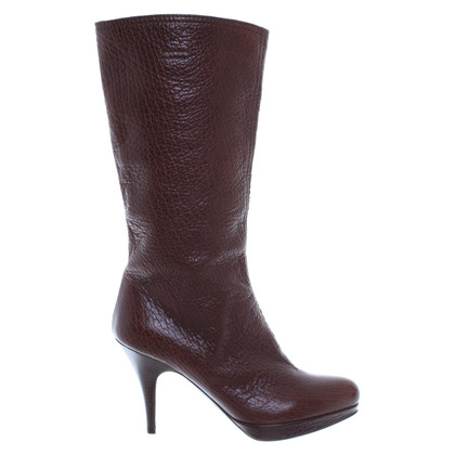 Miu Miu Boot in brown leather