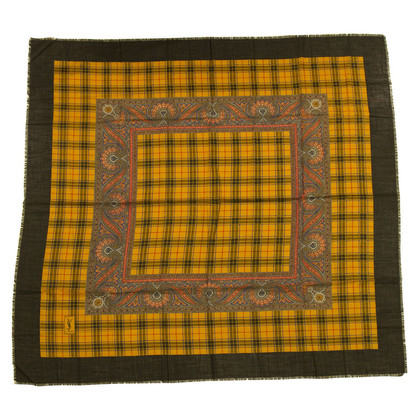 Yves Saint Laurent Silk / wool cloth