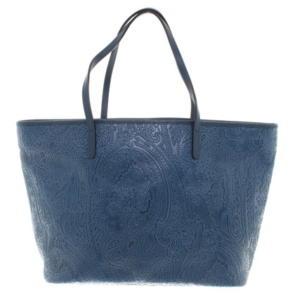 Etro Shoppers Bag in blauw