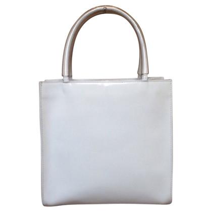 Salvatore Ferragamo Handtasche in Weiß