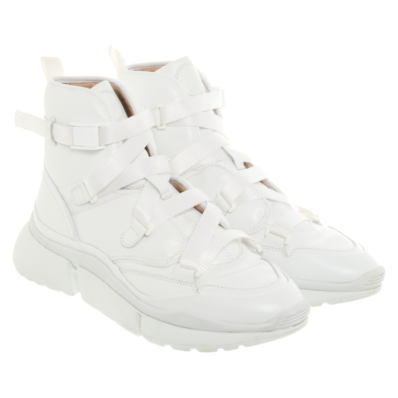 Chloé Trainers Leather in White
