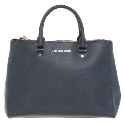 "Michael Kors ""Sutton LG Satchel Navy"""