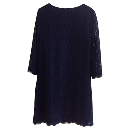 Diane von Furstenberg Top dress in Navy