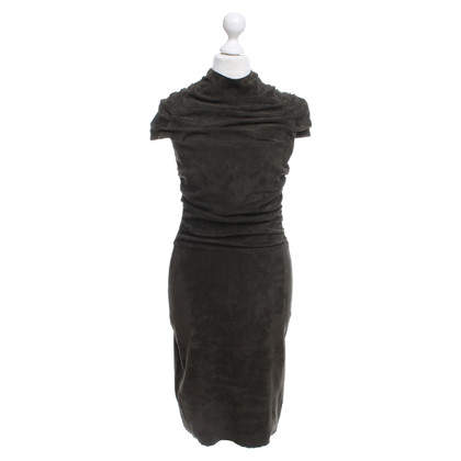 Jitrois Dress in dark green