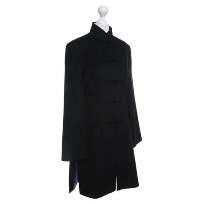 Andere Marke SHANGHAI TANG - Schwarzer Mantel aus Kaschmir