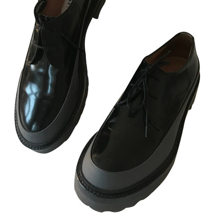 Fratelli Rossetti Patent leather lace-up shoes
