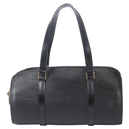"Louis Vuitton ""Soufflot Epi Leather"" in black"