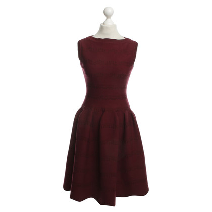 Alaïa Kleid in Bordeaux