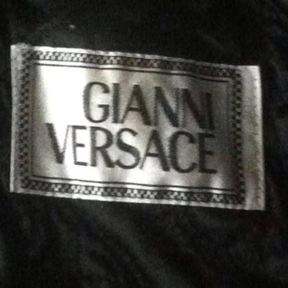 Versace Vintage biker leather jacket