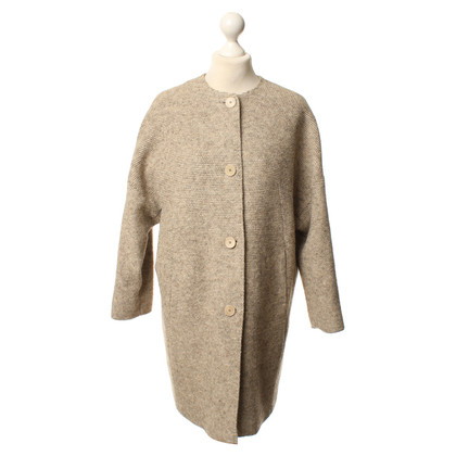 St. Emile Beige wool coat