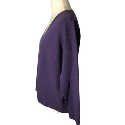 Allude Cashmere sweaters in Violet