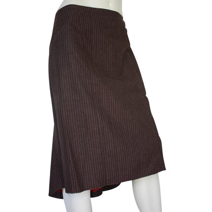Paul Smith Brown wool skirt