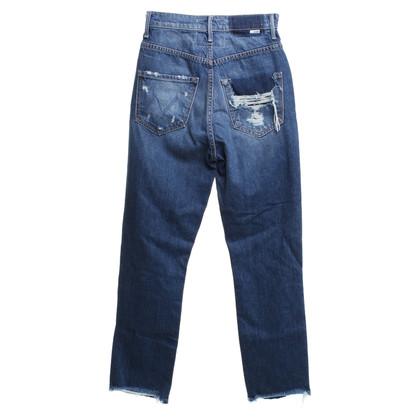 Mother Jeans en bleu