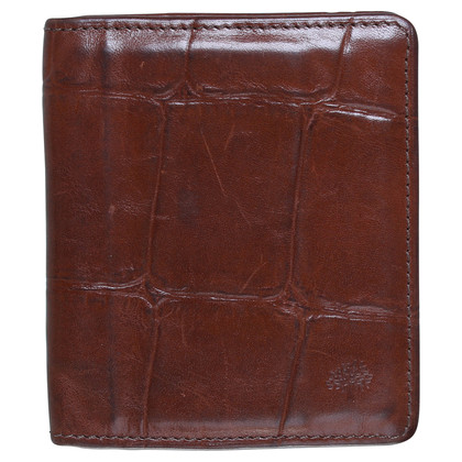 Mulberry Leather cards holder