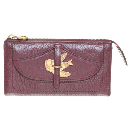 Marc Jacobs Portemonnee in Bordeaux