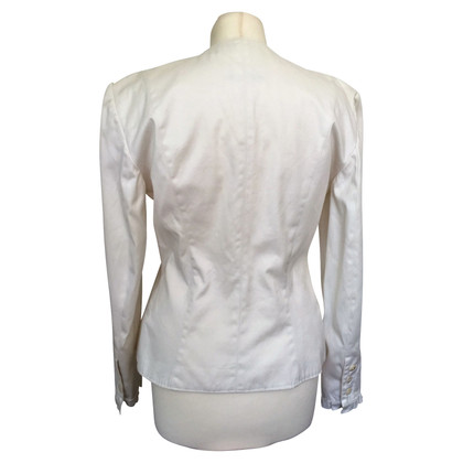 Marc Cain Short jacket in white
