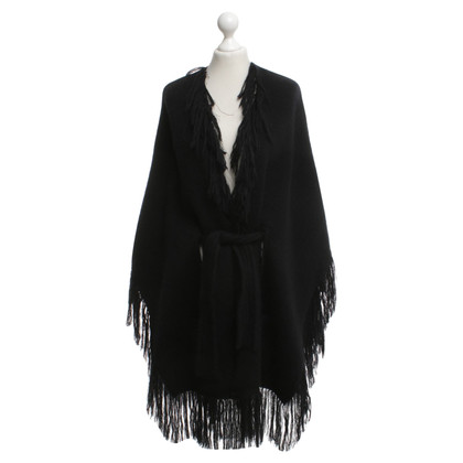 Balmain Cape in black