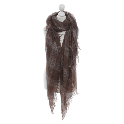 Faliero Sarti Scarf with effect yarn