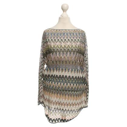 Missoni Tunic with pattern mix