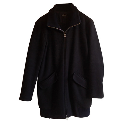 A.P.C. Coat in dark blue