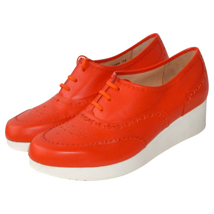 Robert Clergerie Lace-up shoes in red