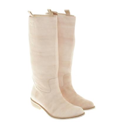Cinque Boots in Nude