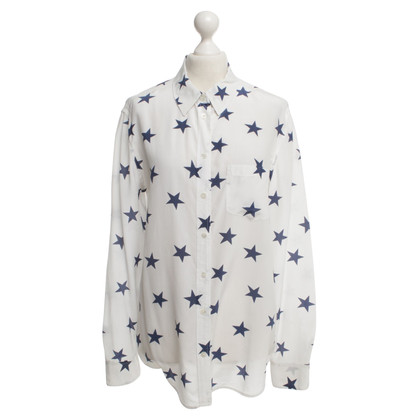 Equipment Hemdbluse mit Sternen-Muster