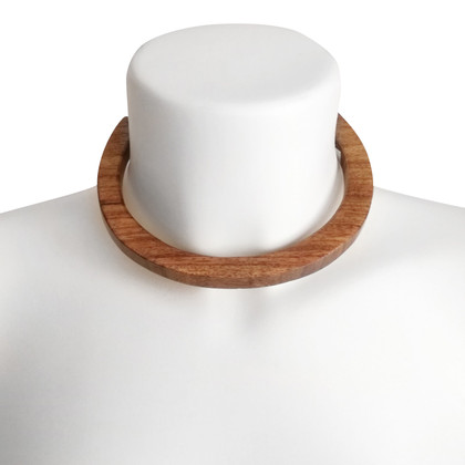 Kenneth Jay Lane Necklace made of wood