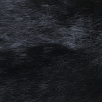 Andere Marke Pelzmantel in Schwarz