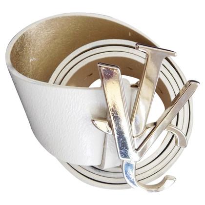 Versace Gürtel mit Monogramm-Schließe