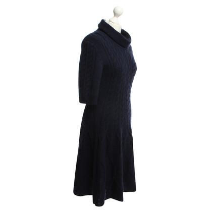 Marc Cain Scuro vestito di lana blu