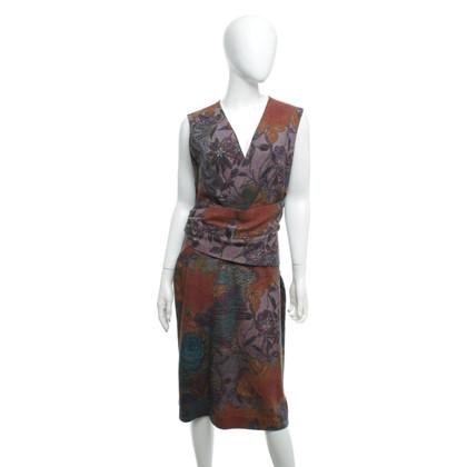 Etro Kleid mit floralem Muster