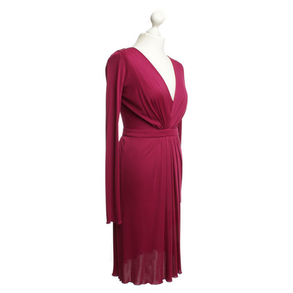 Philosophy di Alberta Ferretti  Cocktailjurk in magenta