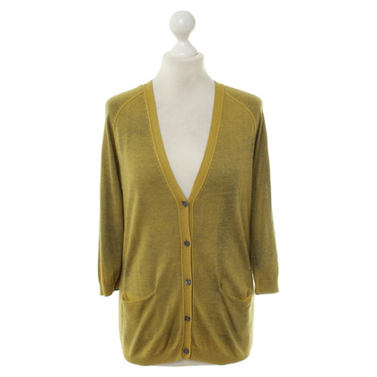 Jil Sander Knitted Cardigan in bicolor