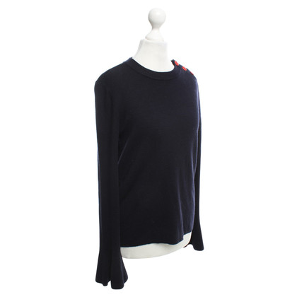 Tory Burch Pullover in Dunkelblau