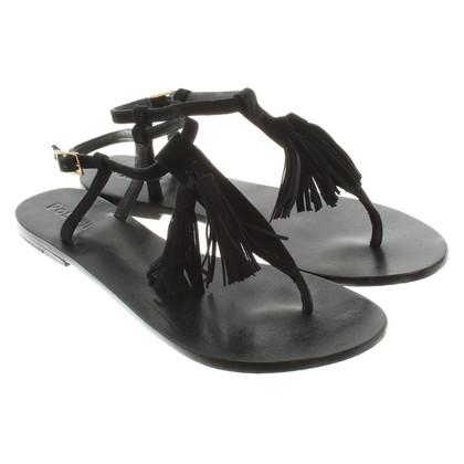 Pollini Sandali in nero