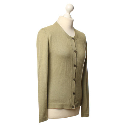 Allude Twin set in olive green