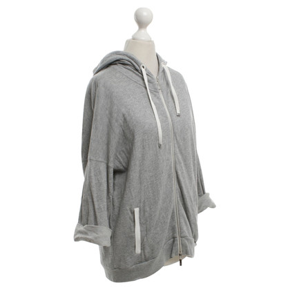 Moncler Sweatshirt jacket in grey