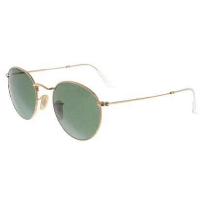 Ray Ban Goldfarbene Sonnenbrille