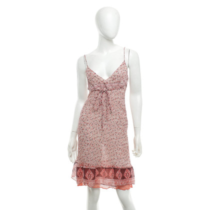 See by Chloé Silk dress with a floral pattern