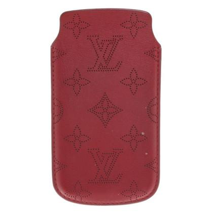 Louis Vuitton iPhone 5 Case in dark red